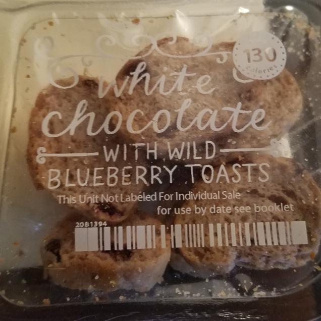 GRAZE BLUEBERRY WHITE CHOCOLATE